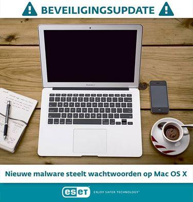 Wachtwoorden Apple Mac-gebruikers gestolen door virus
