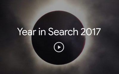 Wat zocht u in 2017 op Google?