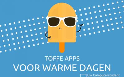 Toffe apps voor warme dagen