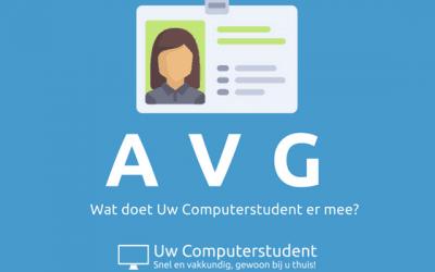 De AVG – wat doet Uw Computerstudent er mee?