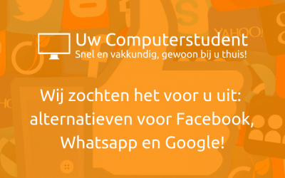 Alternatieven voor Facebook, Whatsapp en Google!