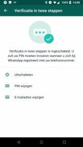 whatsapp veilig
