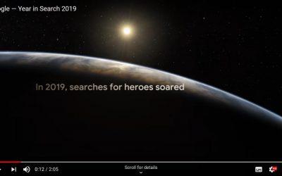 Wat zocht u in 2019 op Google?