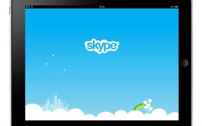 Skype gebruiken op de iPad