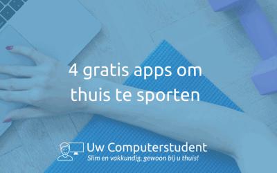 4 gratis apps om thuis te sporten